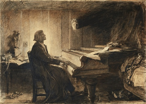 the life and music of franz liszt Liszt was born in 1811 and before he died in 1886, he had studied the piano,  seen paganini play live and lived the life of a rock star in paris franz liszt  became.
